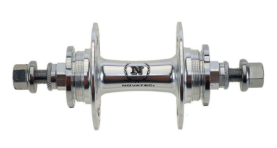 Novatec Single Speed naaf zilver